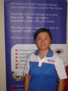 Lily Yang of United Home Ironing Services Essendon